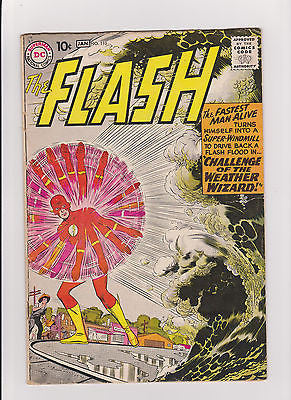 Flash   #110  Lowgrade++   1st  Wally West  Kid Flash  & The Weather Wizard - ComicBookKeys