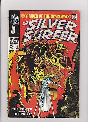 Silver Surfer #3 Complete/Attached/No Restoration  1st Mephisto  High Grade - ComicBookKeys