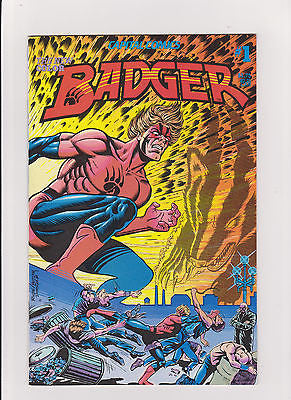 Badger     #1    Mike Baron    High  Grade     1983 - ComicBookKeys