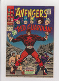 The  Avengers     #43  1st Appearance  Red Guardian   Midgrade+ - ComicBookKeys