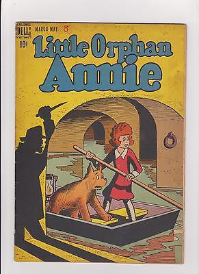 Little Orphan Annie #1  Complete/Attached/No Restoration Dell 1948  Mid-Lower - ComicBookKeys