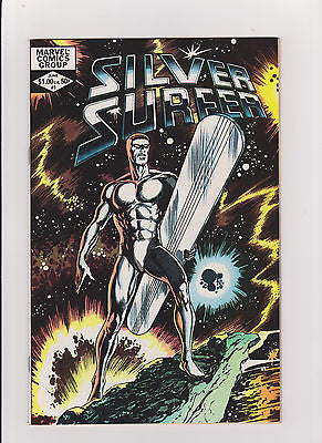 Silver  Surfer   #1    One Shot     High Grade    1982   John Byrne - ComicBookKeys