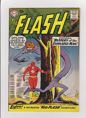 Flash  #112  MidGrade  1st Elongated Man  5.5/Fine- - ComicBookKeys