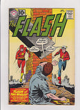 Flash   #123  G.A. Flash/Origin Flash's  Highly Collectible Key   5.0/VG-F - ComicBookKeys