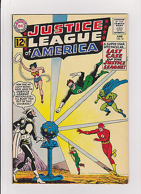 Justice League  #12    High Grade   1st App.  Dr.  Light  7.5/VF- - ComicBookKeys