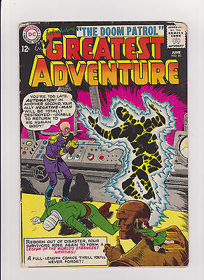 My Greatest Adventure  #80    Low to Midgrade    1st Doom Patrol - ComicBookKeys