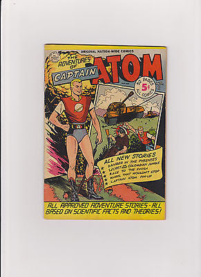 Captain Atom #1    Mid to Higher Grade   63+ Yr. Old  G.A. comic - ComicBookKeys