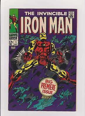 Iron Man  #1    7.0/F-VF - ComicBookKeys