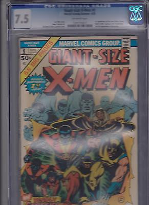 Giant Size X-men #1   1st App. New X-men  CGC  7.5  OW - ComicBookKeys