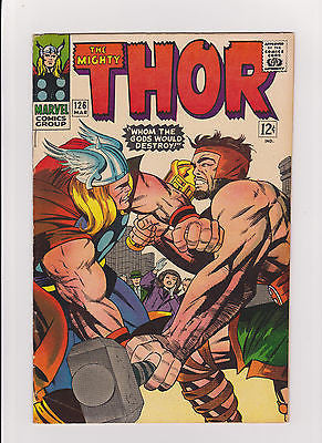 Thor  #126    recognized as the 1st Thor of the Title   Midgrade++ - ComicBookKeys