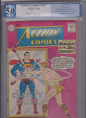 Action Comics   #267    PGX   5.0   C-OW:   1960 - ComicBookKeys