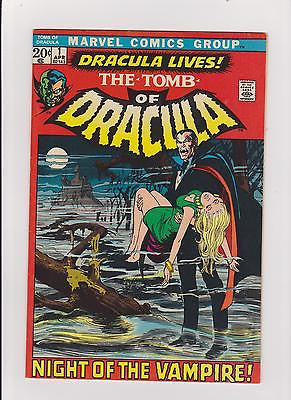 Tomb of Dracula  #1 Complete/Attached/No Restoration  HighGrade - ComicBookKeys
