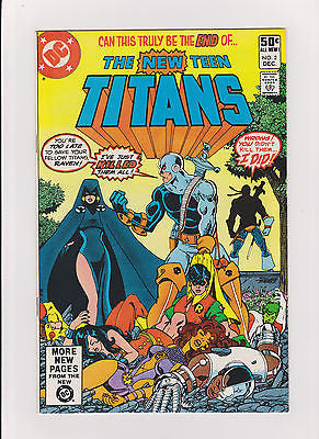 New Teen Titans    #2    High Grade    1st App.  Deathstroke the Terminator - ComicBookKeys