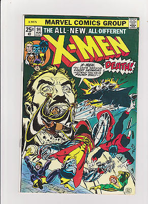The X-Men #94  Complete/Attached/No Restoration New X-Men begin - ComicBookKeys