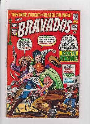 The Bravados    #1      Midgrade to lower     1971 - ComicBookKeys