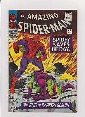 The Amazing Spider-Man    #40   High Grade - ComicBookKeys
