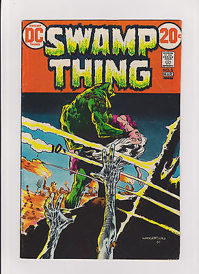 Swamp Thing   #3    Midgrade+    Berni Wrightson artwork  1st Patchwork Man - ComicBookKeys