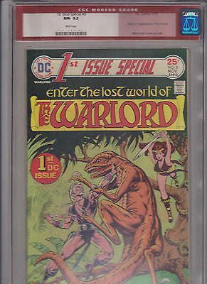 1st Issue Special  #8  CGC  9.2  Rare Red Modern Label   1st App. DC's Warlord - ComicBookKeys