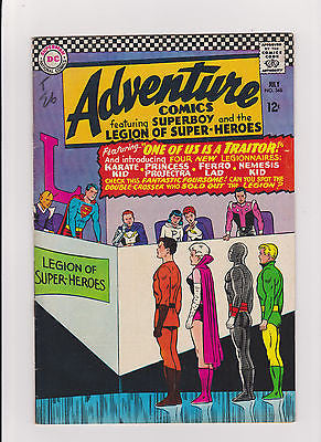 Adventure  Comics     #346   7.0/F-VF   1966    1st app. of 4 Legionaries - ComicBookKeys