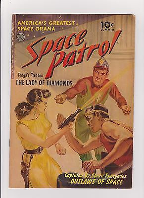 Space Patrol     #1  High Grade Gold   Ziff Davis   61+  Yr. Old comic - ComicBookKeys