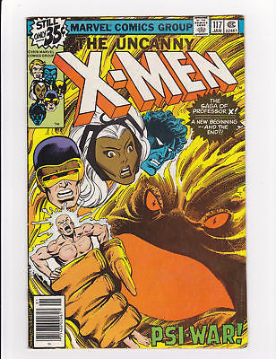 X-Men #117  Professor X origin  F/VF  7.0 - ComicBookKeys