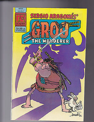 Groo   #1    Dec,  1982     VF-  7.5 - ComicBookKeys