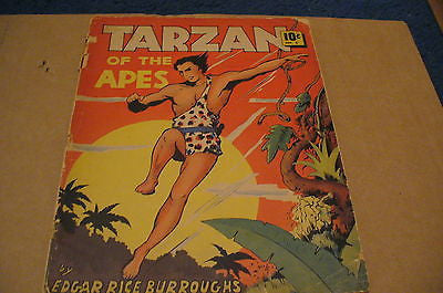 Large Feature Comic #5  Tarzan of the Apes   #1 recognized.  Lower grade - ComicBookKeys