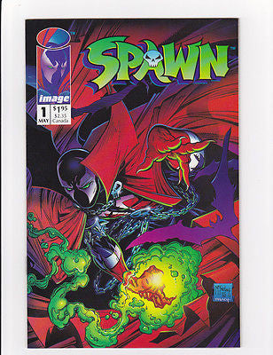 "Spawn #1  May, 1992  ""Investment Grade"" - ComicBookKeys"