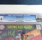 Showcase Presents #73.  CGC  9.4    OW to W   Rocky Mountain Pedigree - ComicBookKeys