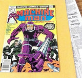 Machine Man #1.  Aprill, 1978. VF/NM. 9.0 - ComicBookKeys