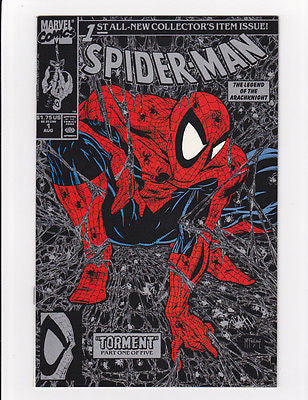 "Spiderman #1  1990  Silver edition  ""Investment Grade"" - ComicBookKeys"