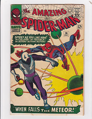 The Amazing Spider-man #36 1st app. Looter   Lowgrade+ - ComicBookKeys
