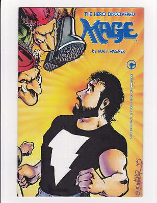 Mage #6  1st Color Grendel  Nm- 9.2 to Nm 9.4 - ComicBookKeys