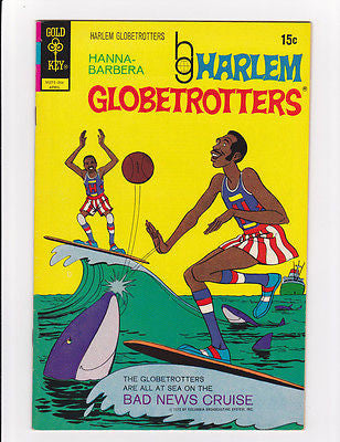 Harlem Globtrotters #1 April, 1972  Nm- 9.2 - ComicBookKeys