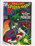 The Amazing Spider-man #78  1st App. Prowler  VF  8.0 - ComicBookKeys