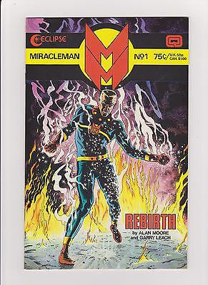 MiracleMan  #1    High Grade but with an exception - ComicBookKeys