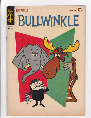 Bullwinkle  #1  Gold Key  Nov, 1962  Fine++ 6.75 - ComicBookKeys