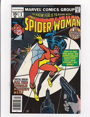 Spiderwoman  #1  April, 78  Nm-  9.2 - ComicBookKeys