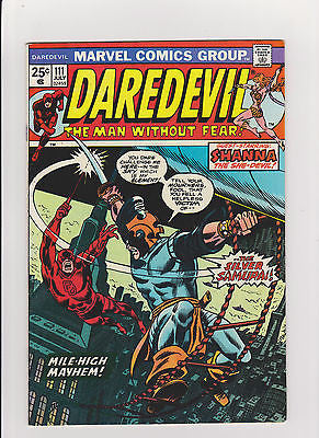 Daredevil   #111    High Grade    1st App.  Silver Samurai   High Gloss - ComicBookKeys