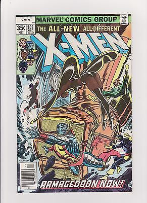 X-Men     #108   John Byrne art begins on X-men   High grade - ComicBookKeys