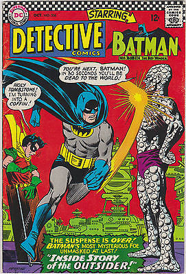 Detective Comics  #356   Mid to Higher grade  1st App. Outsider - ComicBookKeys