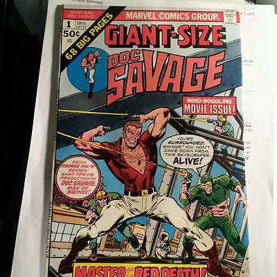 Giant Size  Doc Savage  #1   1975   Higher Grade - ComicBookKeys