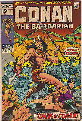 Conan   #1   42  Yr. Old  1st Comicbook App. of Conan    High  grade - ComicBookKeys