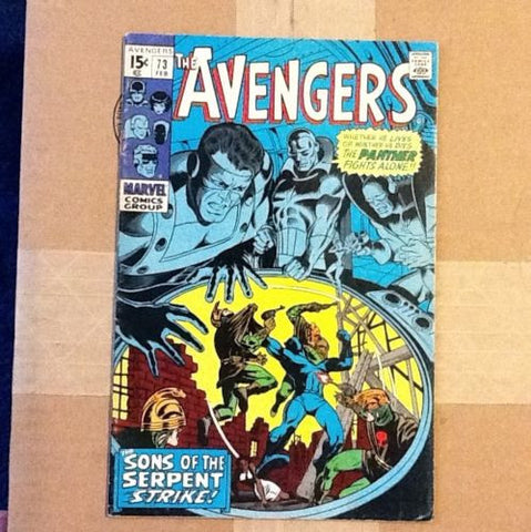 Avengers # 73.   Supreme Serpent 1st App.    High Grade  auction - ComicBookKeys