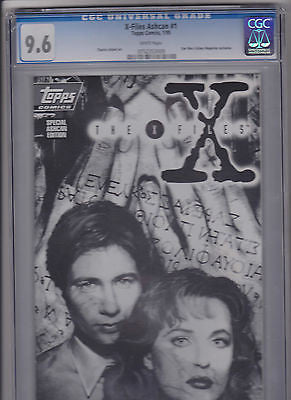 X-Files   #1     Ashcan copy     Star Wars Galaxy Magazine Exclusive    9.6 - ComicBookKeys