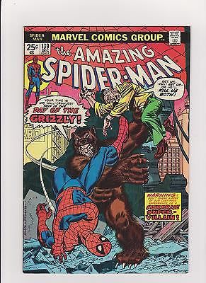 The Amazing Spider-man  #139   1st App.  Grizzly   High Grade - ComicBookKeys
