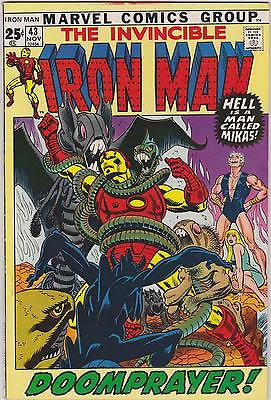 Iron Man    #43     41 +   Yr. Old    Highgrade   Intro the Guardsman - ComicBookKeys