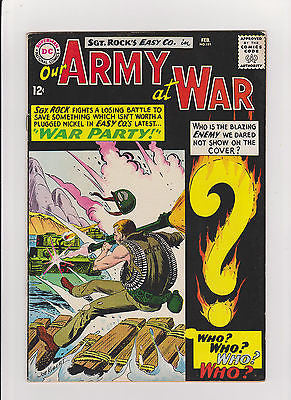 Our Army at War   #151    1st App. Enemy Ace   High Grade listing - ComicBookKeys