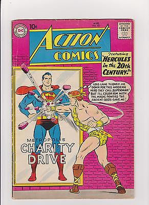 Action Comics #267   1st Chamelon Boy, Colossal Boy, Invisible Kid  Midgrade- - ComicBookKeys