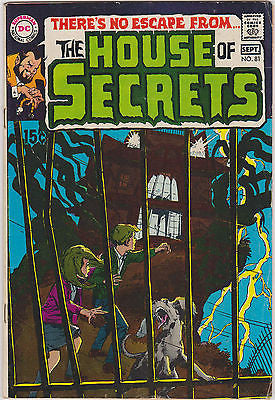 House of Secrets   #81  1st App. Abel  43  Yr. Old   Mid to High - ComicBookKeys
